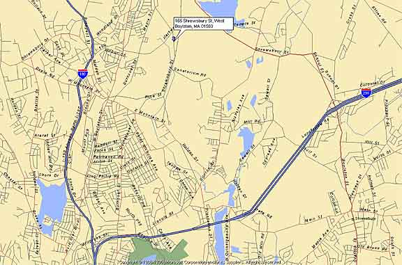 Map - Driving directions to Central Coatings